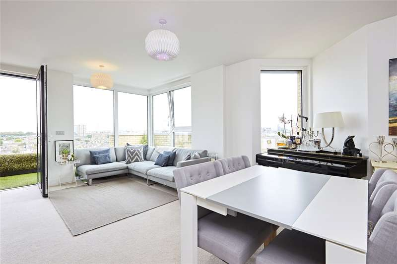2 Bedrooms Flat for sale in Ingrebourne Apartments, 5 Central Avenue, Fulham, London, SW6