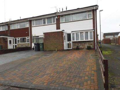 3 Bedrooms End Of Terrace House for sale in Birmingham Street, Willenhall, West Midlands