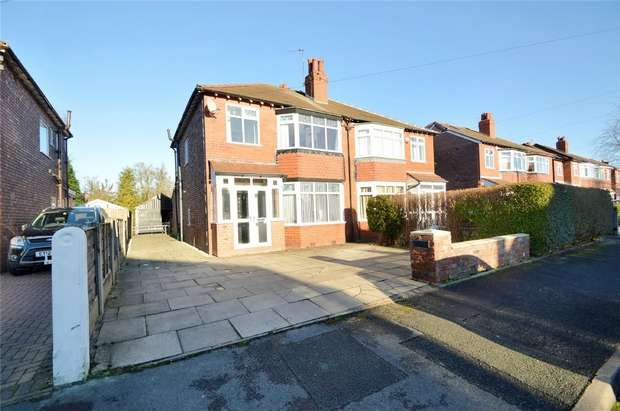 3 Bedrooms Semi Detached House for sale in Arlington Drive, Woodsmoor, Stockport, Cheshire