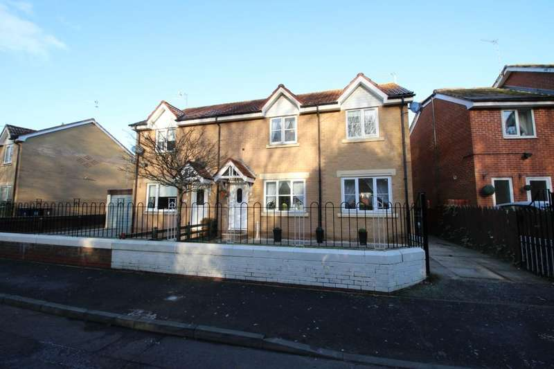 4 Bedrooms Semi Detached House for sale in Braydon Drive, North Shields, NE29