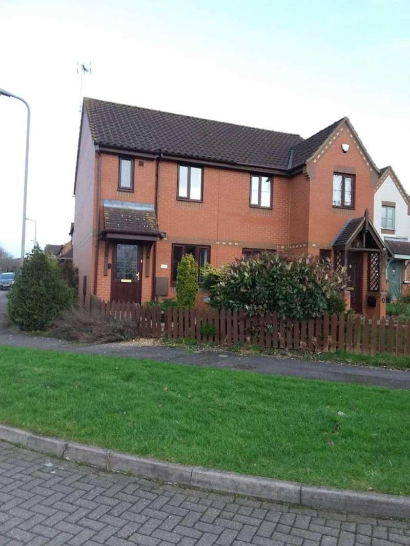 2 Bedrooms Semi Detached House for rent in Stantonbury Fields