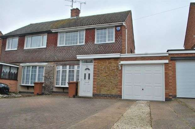 3 Bedrooms Semi Detached House for sale in Harlestone Road, Duston, Northampton NN5 6DE