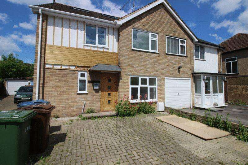 5 Bedrooms Semi Detached House for sale in Brampton Grove, Kenton, Middlesex, HA3 8LD