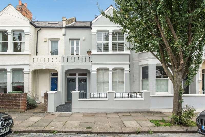 2 Bedrooms Maisonette Flat for sale in Gartmoor Gardens, Southfields, London, SW19