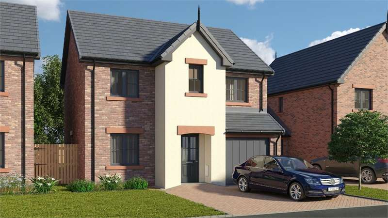 4 Bedrooms Detached House for sale in CA7 9HQ The Wreay, St Cuthberts, WIGTON, Cumbria