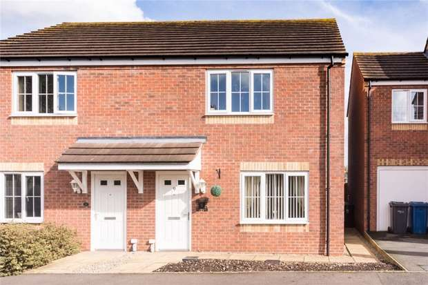 3 Bedrooms Semi Detached House for sale in Gorsey Close, Handsacre, Rugeley, Staffordshire