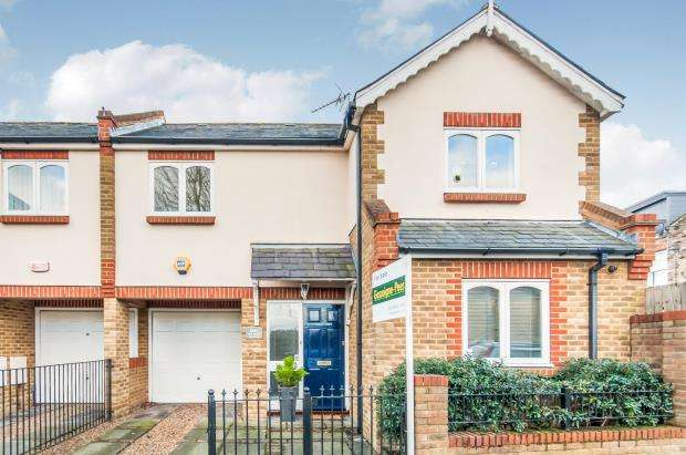 3 Bedrooms Semi Detached House for sale in Carrington Road, Richmond, Surrey