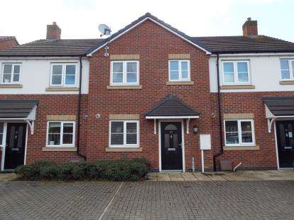 3 Bedrooms Terraced House for sale in Earnlege Way, Arley, Coventry, Warwickshire