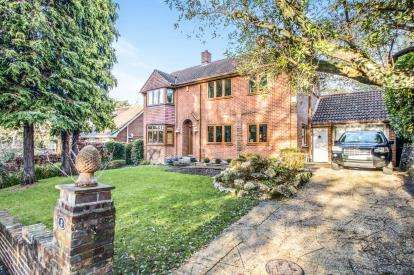 4 Bedrooms Detached House for sale in Talbot Woods, Bournemouth, Dorset