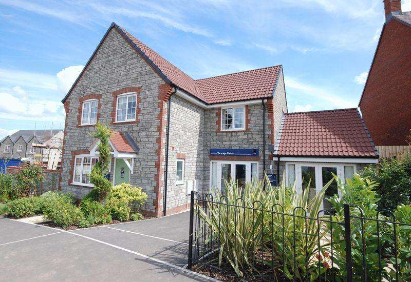 4 Bedrooms Semi Detached House for sale in Vicarage Fields, Wells