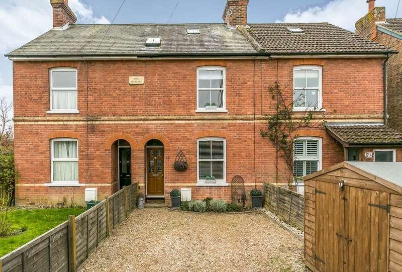 3 Bedrooms Terraced House for sale in Tonbridge Road, Hildenborough, Tonbridge