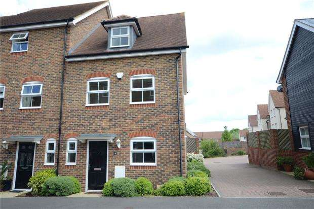 3 Bedrooms End Of Terrace House for sale in Capercaillie Close, Bracknell, Berkshire