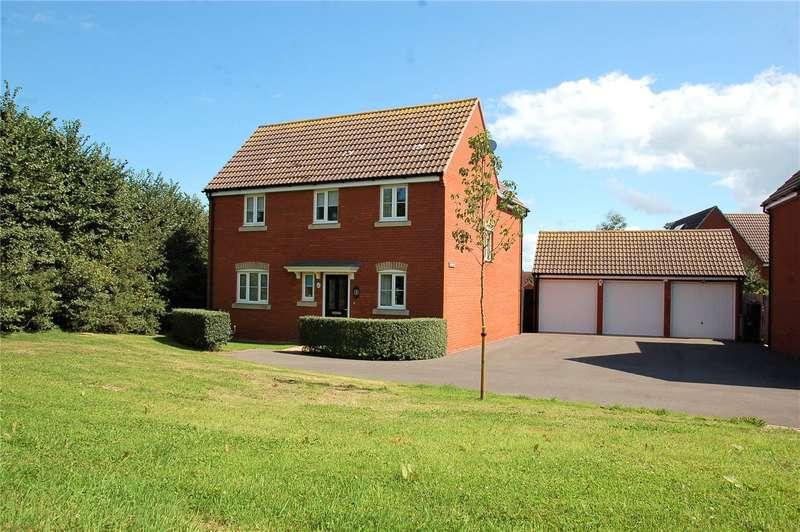 4 Bedrooms Detached House for sale in Primrose Walk Wilstock Village North Petherton TA5