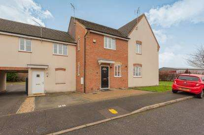 2 Bedrooms Terraced House for sale in Bushell Close, Leighton Buzzard, Bedford, Bedfordshire