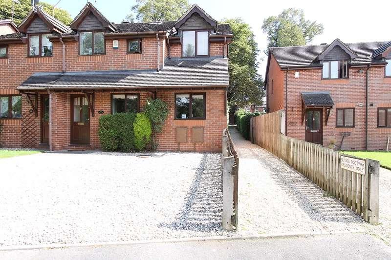 3 Bedrooms Semi Detached House for sale in Lynwood Drive, Blakedown, Kidderminster, DY10