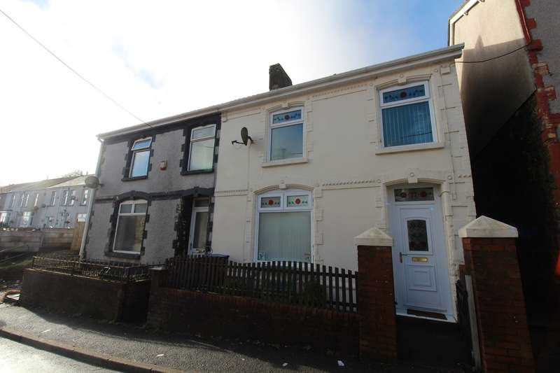 3 Bedrooms Semi Detached House for sale in Drysiog Street, Ebbw Vale, NP23