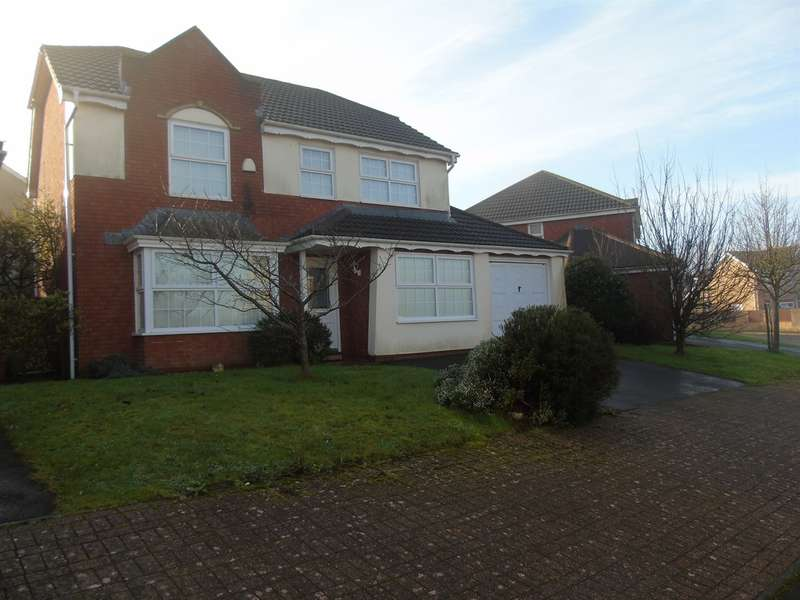 4 Bedrooms Detached House for sale in Marguerites Way, Cardiff