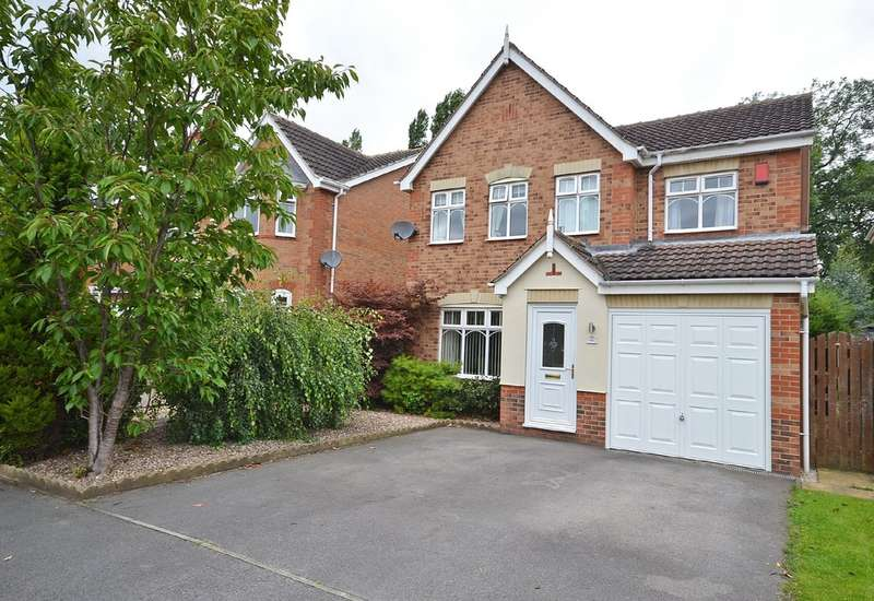4 Bedrooms Detached House for sale in Thornes Moor Road, Thornes, Wakefield