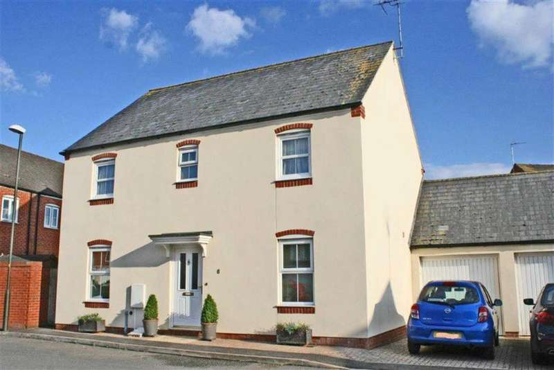 4 Bedrooms Detached House for sale in Desiree Drive, Mitton, Tewkesbury, Gloucestershire