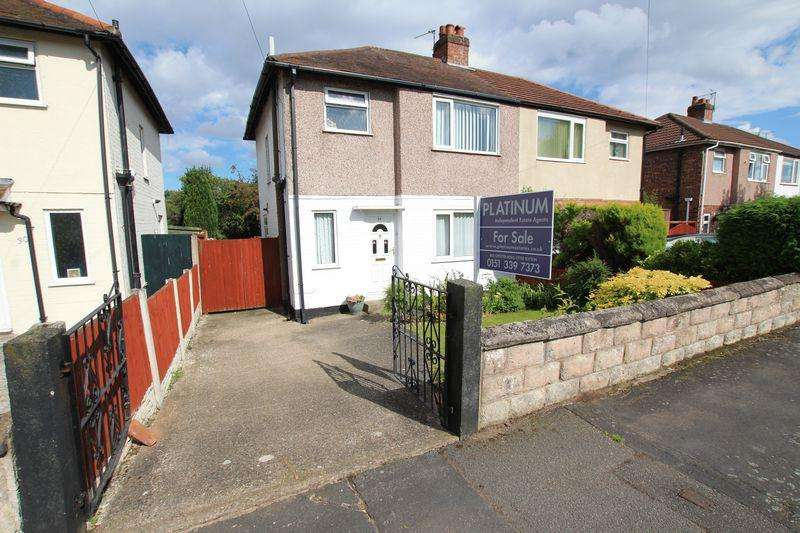 3 Bedrooms Semi Detached House for sale in Valley Drive, Ellesmere Port