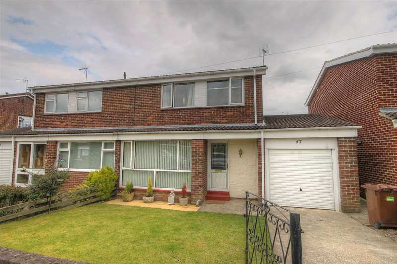 3 Bedrooms Semi Detached House for sale in Windermere Drive, West Auckland, Bishop Auckland, DL14