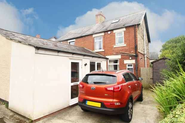 3 Bedrooms Semi Detached House for sale in Cooperative Villas, Langley Moor, Durham, DH7 8EY