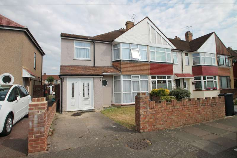 4 Bedrooms End Of Terrace House for sale in Cravan Avenue, Feltham, TW13