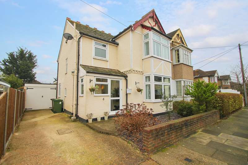 3 Bedrooms Semi Detached House for sale in Coleridge Road, Ashford, TW15