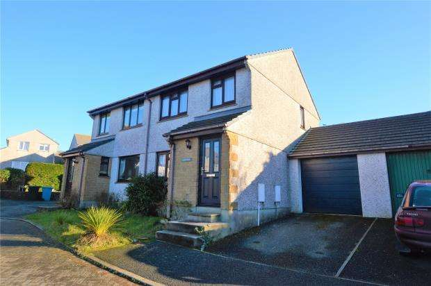 3 Bedrooms Semi Detached House for sale in Gwarth An Drae, Helston, Cornwall