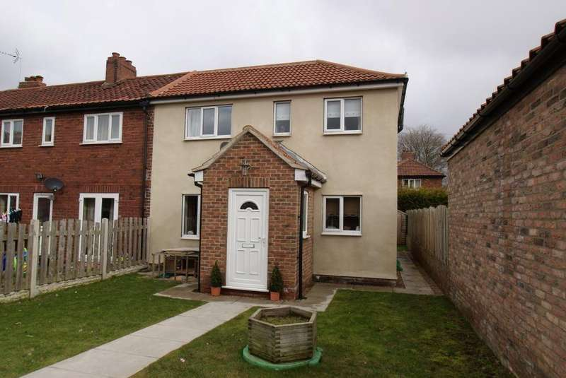 3 Bedrooms End Of Terrace House for rent in Park Lane, Barlow, SELBY, North Yorkshire