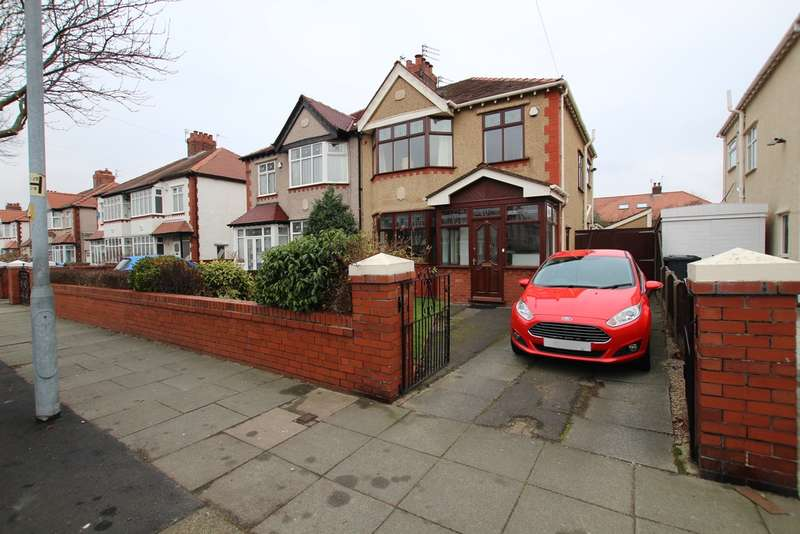 3 Bedrooms Semi Detached House for sale in Manor Road, Liverpool, L23