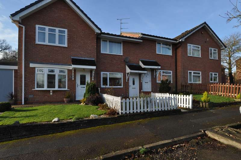 2 Bedrooms Terraced House for sale in Bilbury Close, Walkwood, Redditch, B97