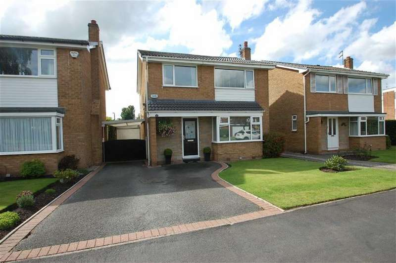 3 Bedrooms Detached House for sale in Dairyground Road, Bramhall, Cheshire