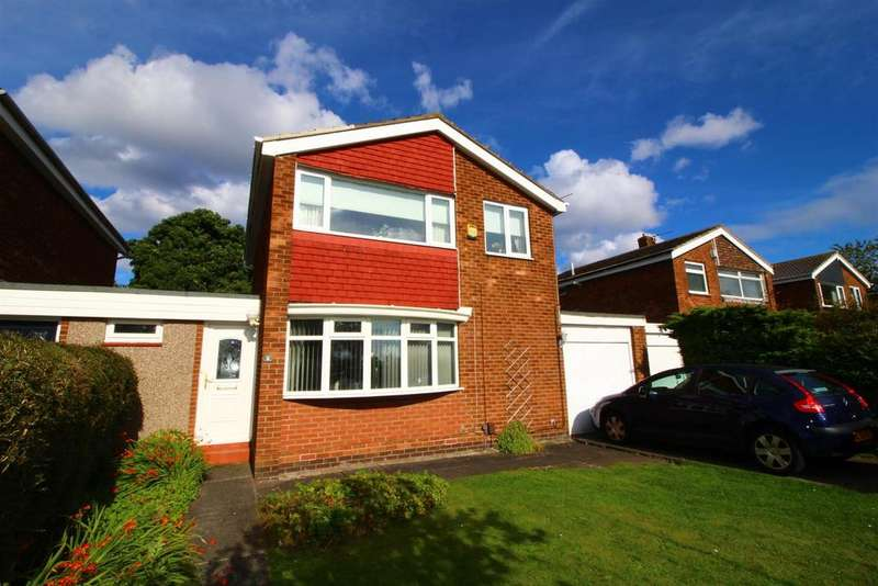 3 Bedrooms Link Detached House for sale in Stirling Drive, North Shields