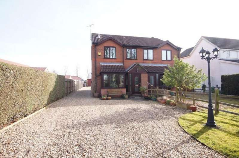 3 Bedrooms Semi Detached House for sale in Grantham Road, Waddington