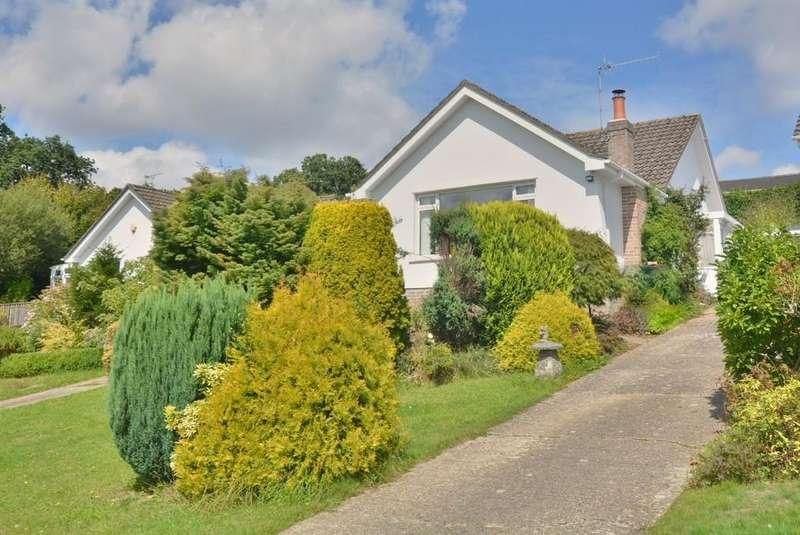 3 Bedrooms Detached Bungalow for sale in Olivers Way, Wimborne