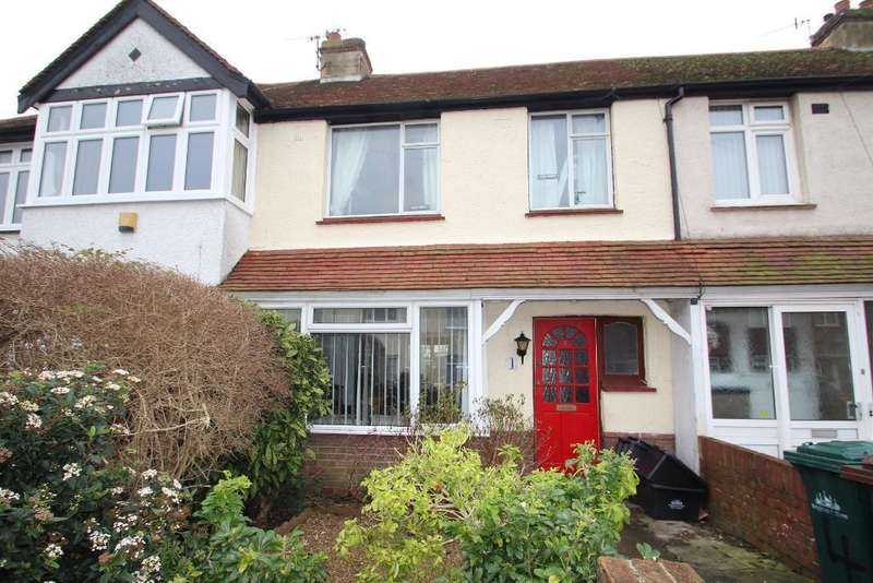 3 Bedrooms Terraced House for sale in Stanley Road, Portslade, East Sussex, BN41 1SW