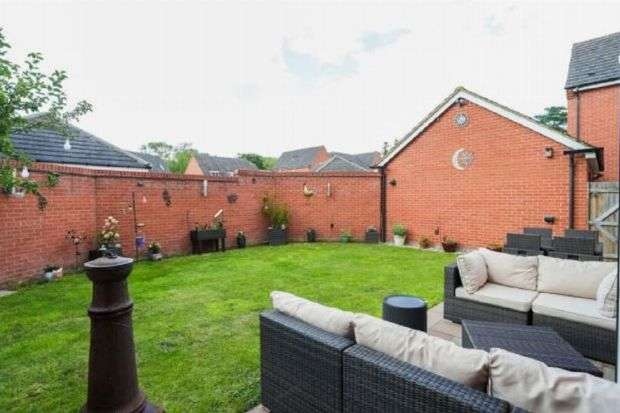 4 Bedrooms Detached House for sale in Acorn Road, St Crispin, Northampton NN5 4BE