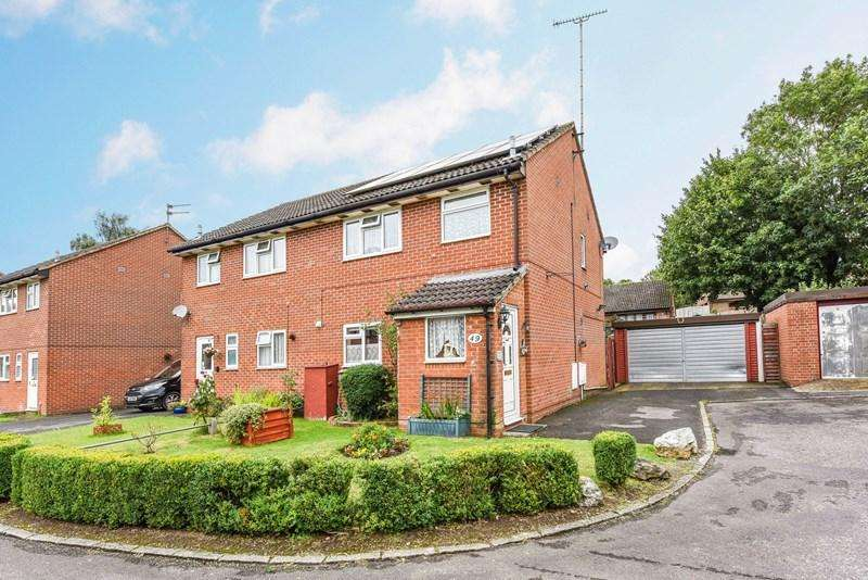 3 Bedrooms Semi Detached House for sale in Hepworth Close, Andover