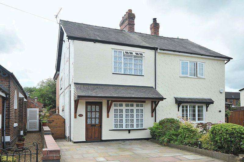 3 Bedrooms Semi Detached House for sale in Main Road, Goostrey