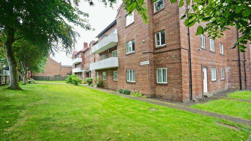 2 Bedrooms Apartment Flat for sale in Wiseton Court, South Gosforth