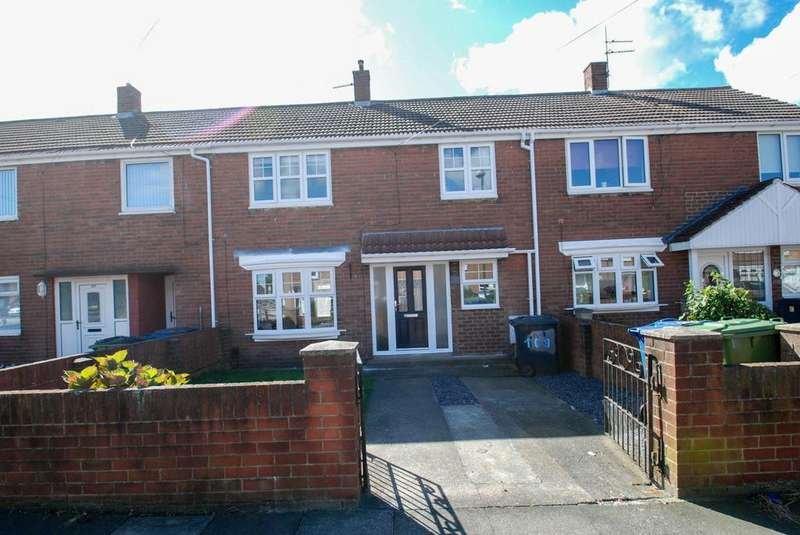3 Bedrooms Terraced House for sale in Rodin Avenue, South Shields