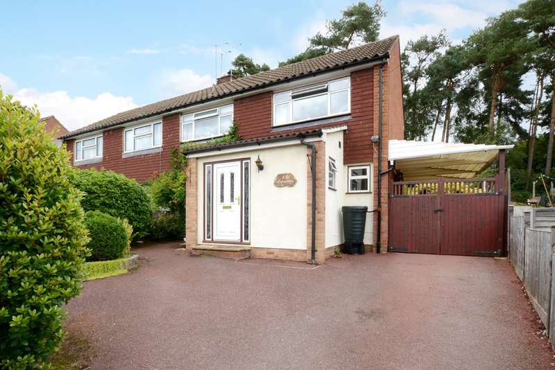 3 Bedrooms Semi Detached House for rent in Evergreen Road, Frimley