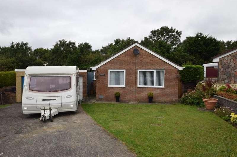2 Bedrooms Detached Bungalow for sale in Cwm Ogwr, 30 Maes Talcen, Brackla, Bridgend County Borough, CF31 2LG
