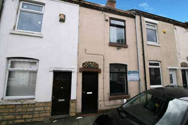 2 Bedrooms Terraced House for sale in Rutland Street, Stoke-On-Trent, Staffordshire, ST1 5JG