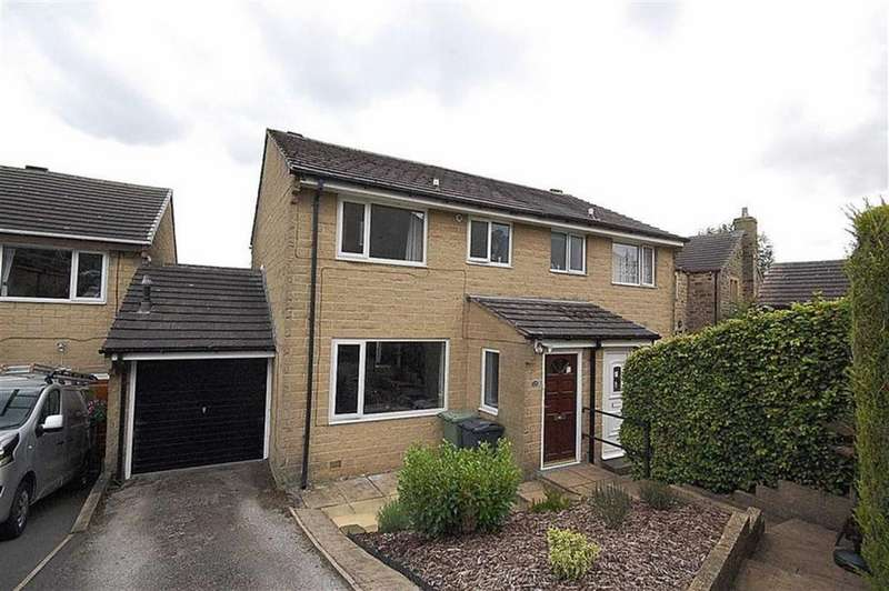 3 Bedrooms Semi Detached House for sale in Greenlaws Close, Upperthong, Holmfirth, HD9