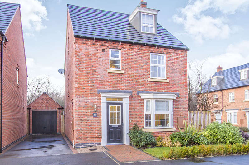 4 Bedrooms Detached House for sale in Crowson Drive, Quorn, Loughborough, LE12