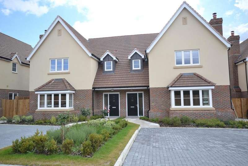 4 Bedrooms Semi Detached House for sale in Plot 4 Dunmow Road,Beauchamp Roding, Essex, CM5