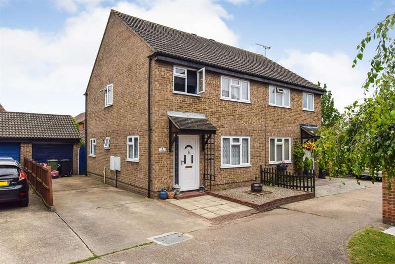 3 Bedrooms Semi Detached House for sale in Southey Close, Heybridge