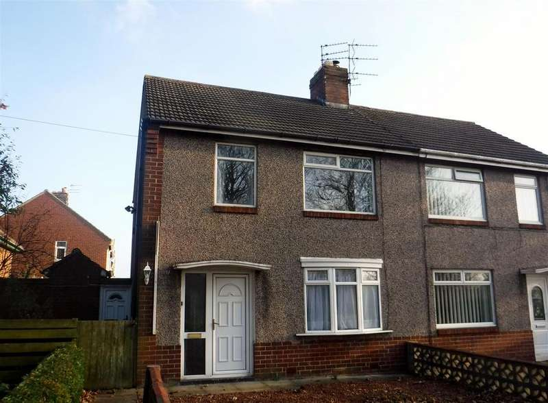 2 Bedrooms Semi Detached House for rent in Haydon Road, Ashington